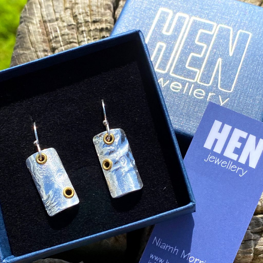 HEN jewellery boxed for delivery